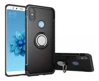 Funda Reforzada Anillo Ring Xiaomi Redmi 6 6a Note 6 Pro