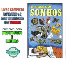 Livro O Guia Dos Sonhos Dos Significados Loto Jogo Do Bicho