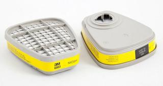 Cartuchos Repuesto 6003 3m Filtro Gases Vapores (par) 2 Unid