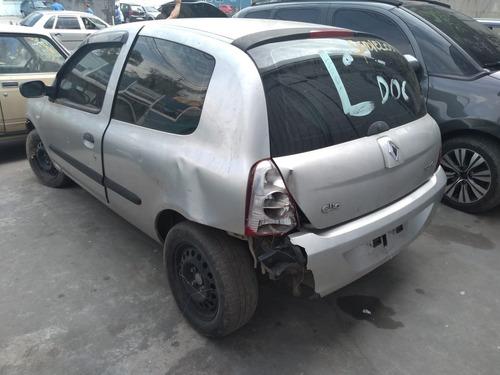 Imagem 1 de 6 de Renault Clio 1.0 16v Hatch 2004 Sucata Para Retirada