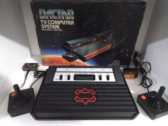 Atari Dactar Completo Na Caixa Top E Raro