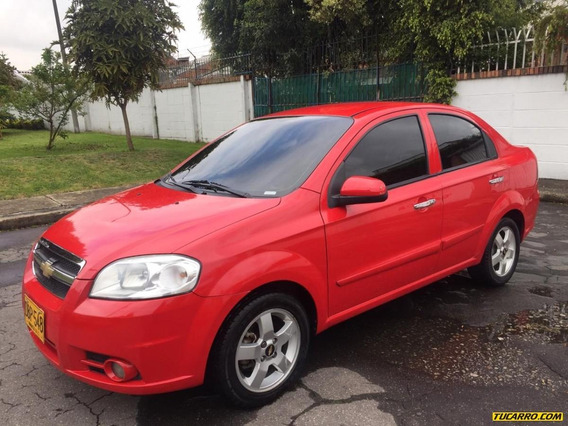 Chevrolet Aveo Emotion Full Equipo 1.6 Mecánico 2 Ab Aa
