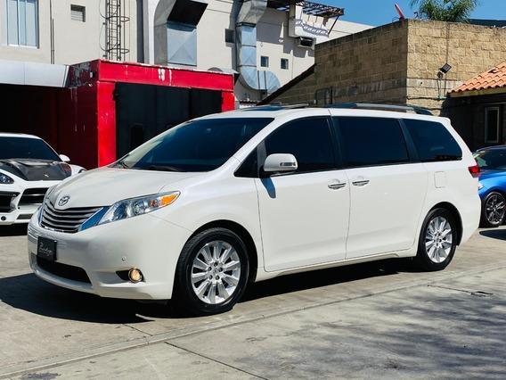 Toyota Sienna Xle Limited Año:2014