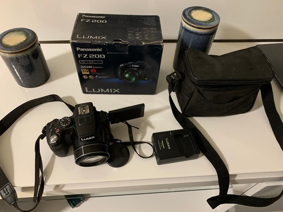 Câmera Semi-profissional Panasonic Fz200