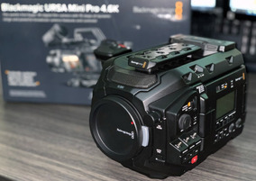 Blackmagic Design Ursa Mini Pro 4.6k Ef Cinema Camera