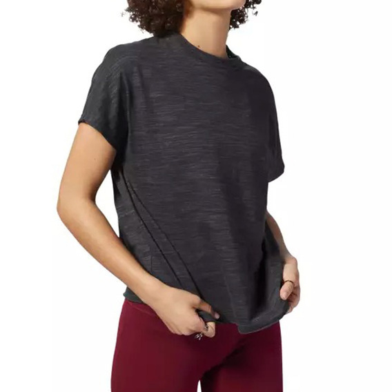 Remera Reebok Training Essentials Marble Mujer Gf