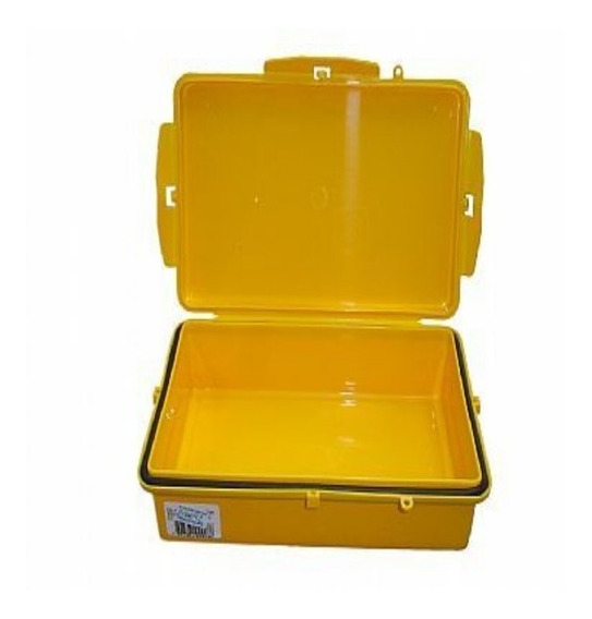 Caixa Estanque Vedada Amarela