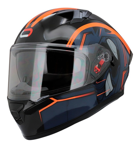 Casco Integral Roda Course Aquila Mate Gafas Certificado Dot