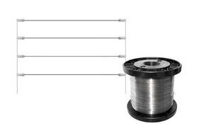 Arame De Aco Inox Para Cerca Eletrica 0,45mm