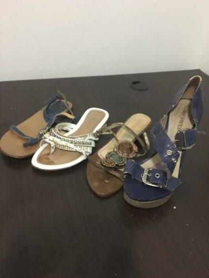 Zapato Chatitas Mujer. Combo Usados. Talle 36 De Mujer.