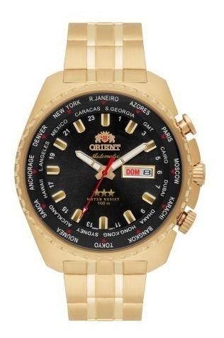Relógio Orient Automático 469gp057 Dourado Frete Grátis