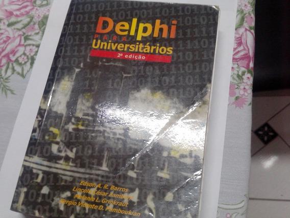 Livro Delphi Para Universitários Vol2