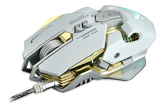 Mouse Para Jogos, 7 Botões Programáveis Com Fio Ajustável Mo