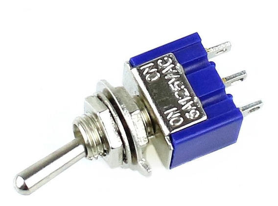 Switch Interruptor De Palanca 2 Posiciones 3 Pines 250v 3a