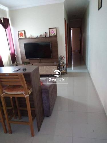Cobertura Com 2 Dormitórios À Venda, 71 M² Por R$ 510.000,00 - Vila Valparaíso - Santo André/sp - Co1500