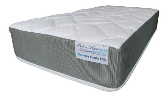 Colchon De Cuna De 80x140 X 30cm De Memory Foam Bio Mattress