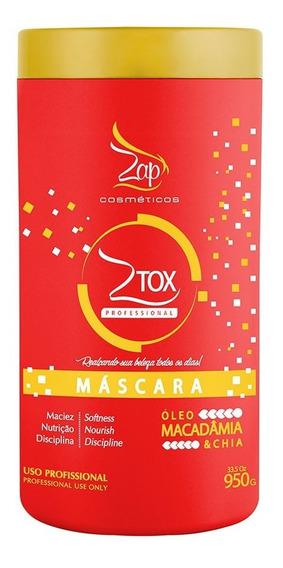 Zap Btx Ztox Oleo Macadamia & Chia Mascara 950g
