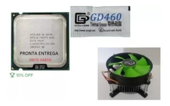 Processador Core 2 Quad Intel Processor Q8400 4m + Cooler