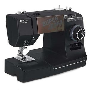 Máquina de coser Toyota Super Jeans J34 negra 220V - 240V