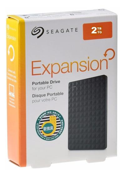 Hd Externo 2tb Portátil Seagate Original 2 Tb Usb 2.0 E 3.0
