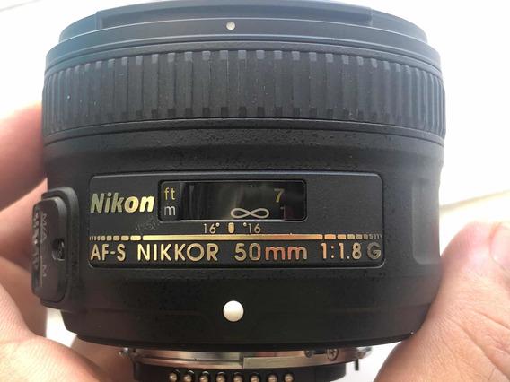 Lente 50mm G Nikon Af-s