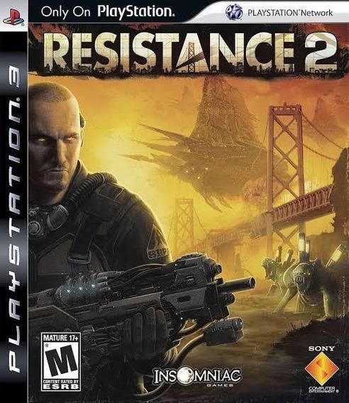 Resistence 2 Jogo Original Playstation 3