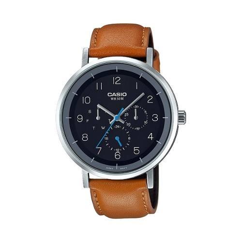 Reloj Casio Hombre Café Mtp-e314l-1bvdf