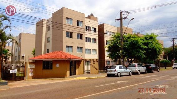 Apartamento Com 3 Dormitórios À Venda, 50 M² Por R$ 150.000 - Recanto Tropical - Cascavel/pr - Ap0210