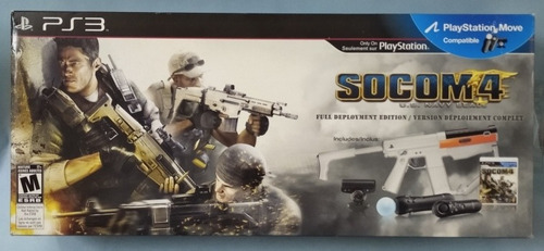 Playstation Move Sharp Shooter. Ps3. En Caja De Socom 4.nuev