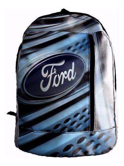 Mochila Sublimada Ford Mcar030