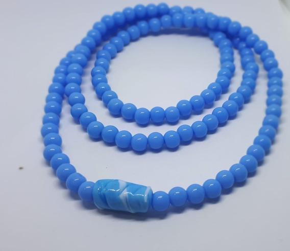 Guia De Iemanjá Azul Claro De Porcelana Pronta Entrega