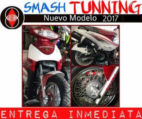 Moto Gilera Smash 110 Tunning Rayo Disco 0km 2017