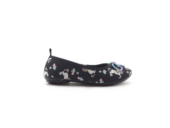 Zapato Balerina Chatitas Chata Molekinha Unicornio Nena Niña