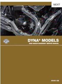 Catálogo De Peças E Manual De Serviço Harley Dyna 2008