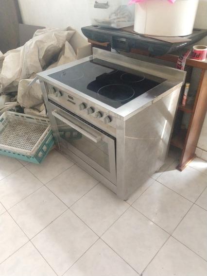 Cocina Ariston Cp 0v9 M Electrica 6 Hornallas