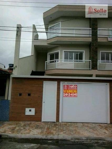 Sobrado Com 3 Dormitórios À Venda, 250m² - Jardim Santa Francisca - Guarulhos/sp - So0023