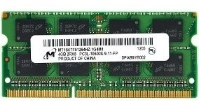 Memoria Ram 4gb Ddr3 Para Laptop Bus 1333-1600