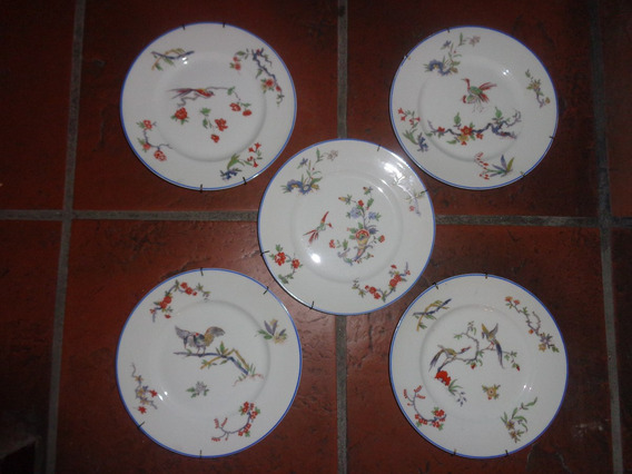 Bellos Platos Decorativos En Porcelana Limoges