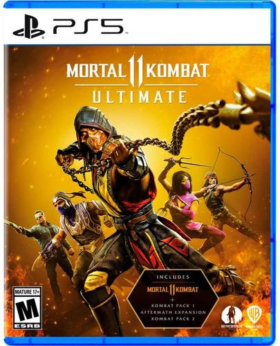 Imagen 1 de 1 de Mortal Kombat 11 Ultimate Formato Físico Ps5 Original