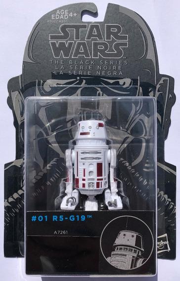 2014 Star Wars Black Series 3.75 R5-G19 #01