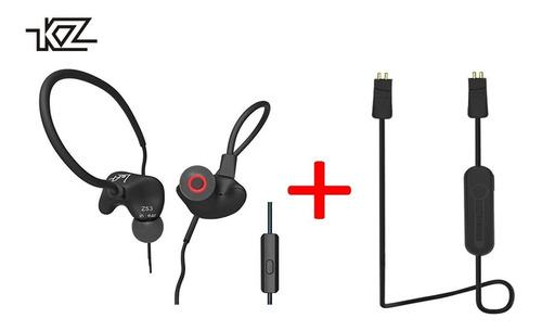 Auriculares Kz Zs3 Con Mic + Modulo De Bluetooth 4.2