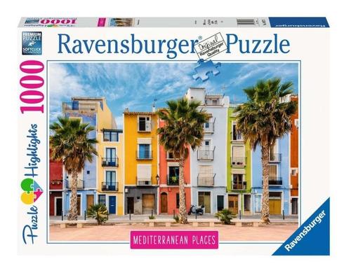 Imagen 1 de 3 de Puzzle 1000 Piezas Mediterranean Spain Ravensburger 149773