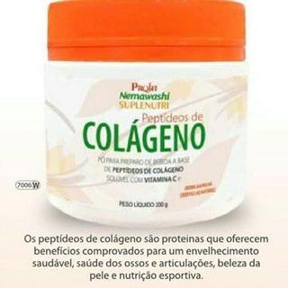 Colágeno Hidrolisado Solúvel Com Vitamina C Frete Grátis