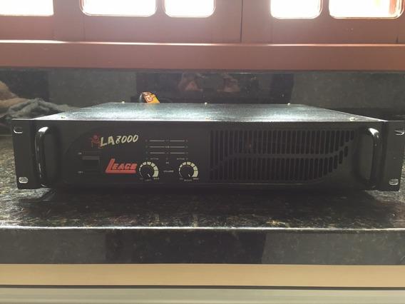 Amplificador Potência Leacs La8000 (zerada)