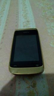 Nokia Asha 308 Dourado