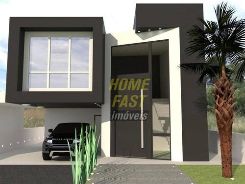 Casa Com 4 Dormitórios À Venda, 275 M² Por R$ 1.780.000,00 - Residencial Real Park - Arujá/sp - Ca0563
