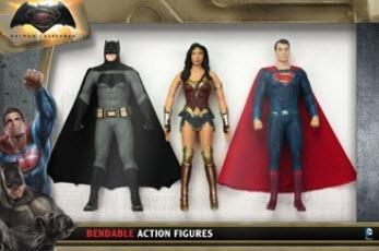 Muñeco Batman Vs Superman Dc 3960 Bendable - Hasbro Hasbro