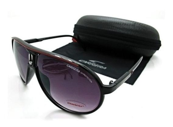 Oculos Carrera Escuro Completo Promoção Barato Unisex