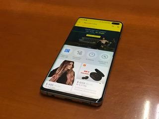 Samsung S10 Plus, Azul. 128 Gb. Telcel/ 1 Mes De Uso.