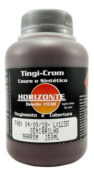 Tinta Para Couro Marrom Jaquetas Sofás Tingicrom 250ml